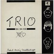 Click here for more info about 'Trio - Da Da Da - Black Sleeve'