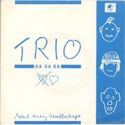 Click here for more info about 'Trio - Da Da Da - Blue & White Sleeve'
