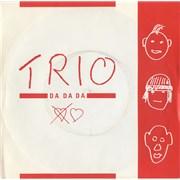 Click here for more info about 'Trio - Da Da Da - Red & White Sleeve'