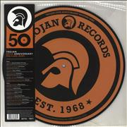 Click here for more info about 'Trojan 50th Anniversary Picture Disc'