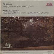 Click here for more info about 'Tátrai Quartet - Brahms: String Quartet No. 2 in A Minor / Mendelssohn: String Quartet No. 4 in E Minor'