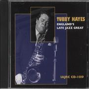 Tubby Hayes England's Late Jazz Great Canada CD album