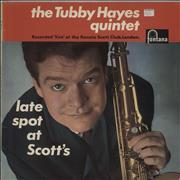 Click here for more info about 'Tubby Hayes - Late Spot At Scott's - 1st - VG/G+'