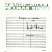 Click here for more info about 'Tubby Hayes - Mexican Green'