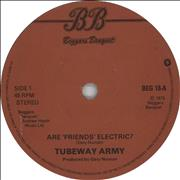 Click here for more info about 'Tubeway Army - Are Friends Electric? - Solid'