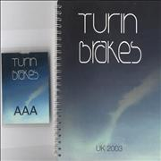 Click here for more info about 'Turin Brakes - 2 Tour Itineraries and 2 AAA Passes'