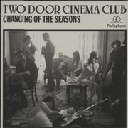 Click here for more info about 'Two Door Cinema Club - Changing Of The Seasons - Sealed'