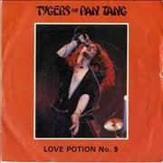 Click here for more info about 'Tygers Of Pan Tang - Love Potion No.9 + P/S'