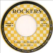 Click here for more info about 'U Brown - Keep On Skanking'