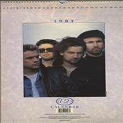 Click here for more info about 'U2 - 1987 Calendar'