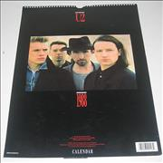 Click here for more info about 'U2 - 1988 Calendar'