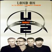 Click here for more info about 'U2 - 360° Tour - London & Dublin'