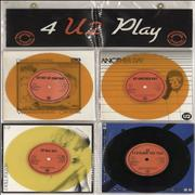 Click here for more info about 'U2 - 4 U2 Play - Orange / Yellow / Black Vinyl'