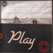 Click here for more info about 'U2 - 4 U2 Play - 'Sunburst' labels - EX'