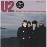 "U2 40 (How Long) Germany 7"" vinyl"