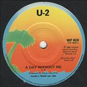 Click here for more info about 'U2 - A Day Without Me - Solid'