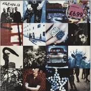 U2 Achtung Baby - Price Stickered & in Shrink UK vinyl LP