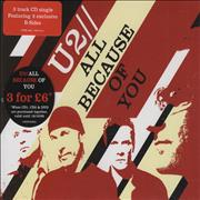 Click here for more info about 'U2 - All Because Of You'