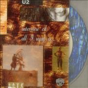 Click here for more info about 'U2 - All I Want Is... Interview Cd'