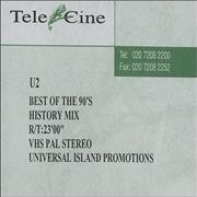 Click here for more info about 'U2 - Best Of The 90's - History Mix'