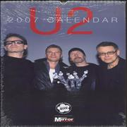 Click here for more info about 'U2 - Calendar 2007 - SEALED PACK OF TEN'
