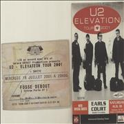 Click here for more info about 'U2 - Elevation Tour - Two Ticket Stubs'