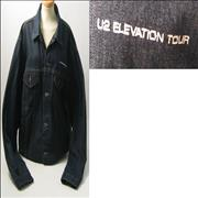 Click here for more info about 'U2 - Elevation Tour - Denim Crew Jacket - Medium'