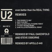 Click here for more info about 'U2 - Even Better Than The Real Thing - Remixes'
