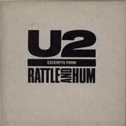 U2 Excerpts From Rattle & Hum - EX UK CD album Promo