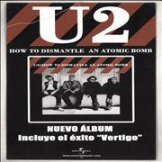 Click here for more info about 'U2 - How To Dismantle An Atomic Bomb - Display'