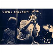 Click here for more info about 'U2 - I Will Follow - Poster Sleeve'