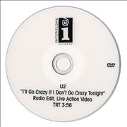 Click here for more info about 'U2 - I'll Go Crazy If I Don't Go Crazy Tonight'
