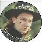 Click here for more info about 'U2 - Interview Picture Disc - Bono picture'
