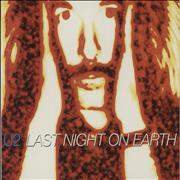Click here for more info about 'U2 - Last Night On Earth + Digi'