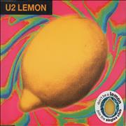 Click here for more info about 'U2 - Lemon - Silver Pressed Disc'