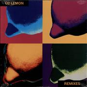 Click here for more info about 'U2 - Lemon - Yellow Vinyl - Sealed'