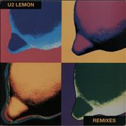 Click here for more info about 'U2 - Lemon - Yellow Vinyl'