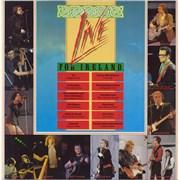 U2 Live For Ireland UK vinyl LP