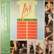 Click here for more info about 'U2 - Maggie's Farm - on Live For Ireland LP'