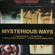 Click here for more info about 'U2 - Mysterious Ways + Belly band - EX'