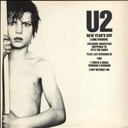 Click here for more info about 'U2 - New Year's Day + Sleeve - EX'