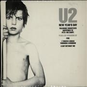 Click here for more info about 'U2 - New Year's Day - Double Pack'