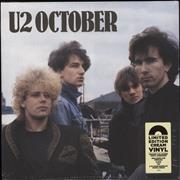 Click here for more info about 'U2 - October - 180gram Cream Vinyl - Sealed'