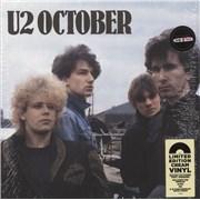 Click here for more info about 'U2 - October - 180gram Cream Vinyl + Shrink'
