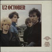 Click here for more info about 'U2 - October - 7 European Issues'