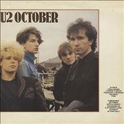 Click here for more info about 'U2 - October - EX'
