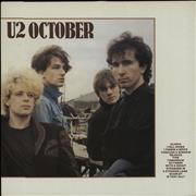 Click here for more info about 'U2 - October'