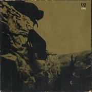 Click here for more info about 'U2 - One - Digipak - EX'