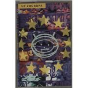U2 Pop & Zooropa Cassette Albums UK cassette album