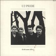 Click here for more info about 'U2 - Pride - Double Pack - EX'